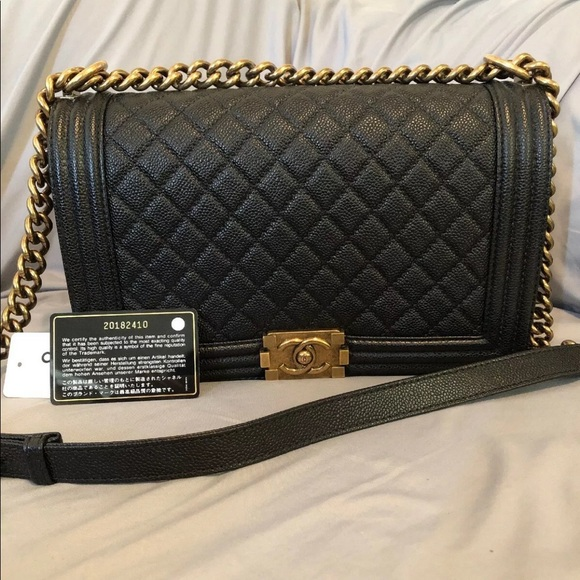 3dcfd6e1890f CHANEL Bags | Authentic Quilted Boy Flap Bag | Poshmark